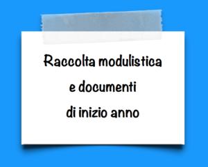 Link a pagina modulistica inizio anno
