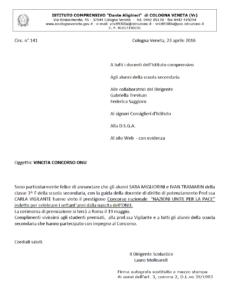 Vincita concorso ONU - Apri pdf