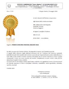 Vincita concorso - apri pdf