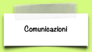BANNER Comunicazioni scuola secondaria