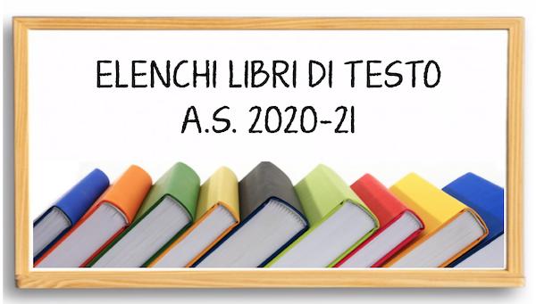 BANNER LIBRI DI TESTO ANNO SCOLASTICO 2020-2021